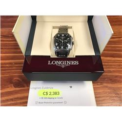 LONGINES EVIDENZA CHRONO STAINLESS STEEL AUTOMATIC CHRONOGRAPH WATCH