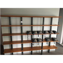 8' X 6' SHELVING UNIT