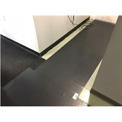 ALL STICK-ON FLOOR GRIP MATTING IN HALLWAY AREA
