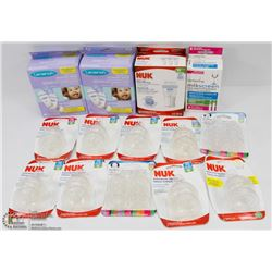 BAG OF BABY FEEDING SUPPLIES