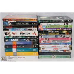 BOX OF ASSORTED DVD'S