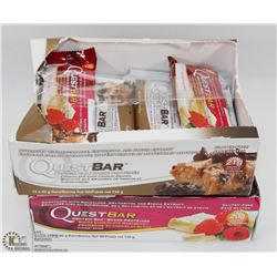 TWO BOXES OF QUEST BAR PROTEIN BARS