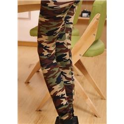 NEW CAMOUFLAGE STRETCHY LEGGINGS