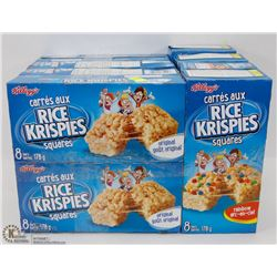 8 BOXES OF KELLOGG'S RICE KRISPIES