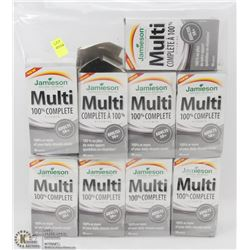 9 BOTTLES OF JAMIESON MULTI COMPLETE MULTIVITAMINS