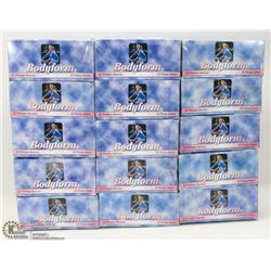 15 BOXES OF BODYFORM PANTY LINERS