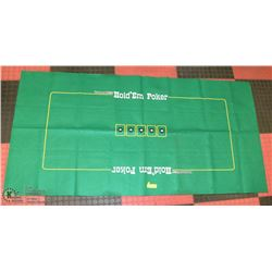 TEXAS HOLDEM TABLE COVER.