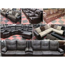 FEATURED ITEMS: NEW SOFA SETS AND SECTIONALS