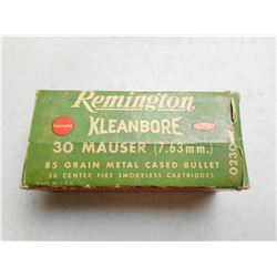 REMINGTON 7.63MM (.30) MAUSER AMMO
