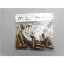 ASSORTED 44-40 AMMO