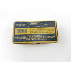 CIL 32 SHORT SUPERCLEAN AMMO