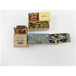 ASSORTED ANTIQUE RIM FIRE AMMO