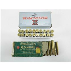 ASSORTED 30-30 WINCHESTER AMMO