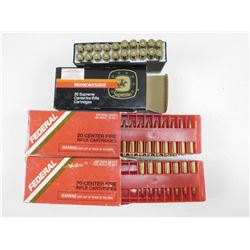 ASSORTED 22-250 AMMO
