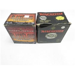 ASSORTED 12 & 10 GA 3 1/2  AMMO