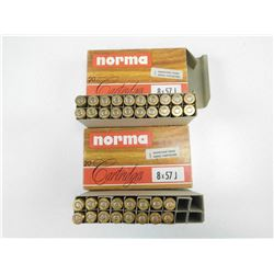 NORMA 8X57 J AMMO