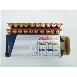 FEDERAL 223 REM MATCH AMMO