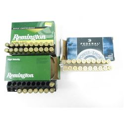 ASSORTED 7MM REM MAG AMMO