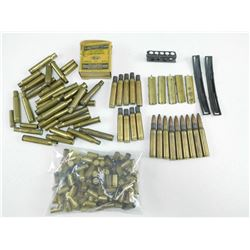 ASSORTED BRASS/AMMO