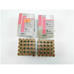 SELLIER & BELLOT 9MM BROWNING (380 AUTO) AMMO