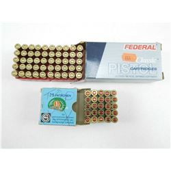 ASSORTED 380 AUTO AMMO