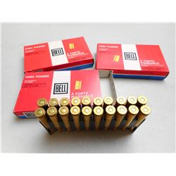 BELL 6.5 X 55 MM AMMO