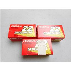 FEDERAL 22 WIN MAG AMMO