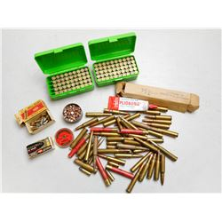 ASSORTED AMMO & BRASS LOT