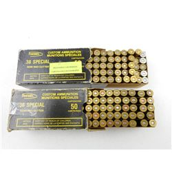 38 SPECIAL RELOADS