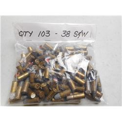 ASSORTED 38 S&W AMMO