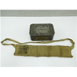 "303"" S.A. BALL AMMO BANDOLEER & TIN"