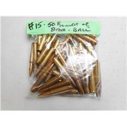 7.92MM (8MM) BALL AMMO