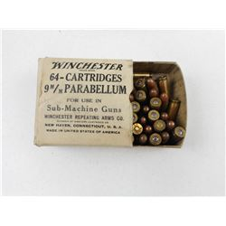 ASSORTED 9MM MILITARY AMMO