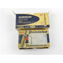 DOMINION 243 WIN BRASS
