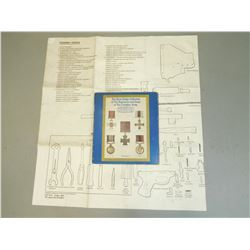 GREAT BADGE COLLECTION & M60 LAYOUT CHART