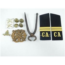 ASSORTED MILITARY ITEMS