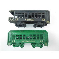 CAST IRON TRAINS