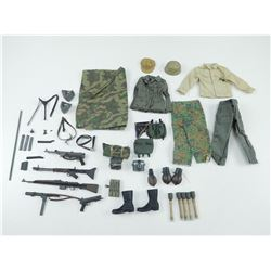 ASSORTED FIGURINE OUTFITS & ACCESSORIES