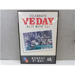 ROYAL BRITISH LEGION VE DAY POSTER