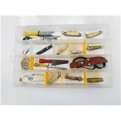 COLLECTION OF SMALL POCKET KNIVES