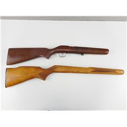 ASSORTED WOODEN GUN STOCKS