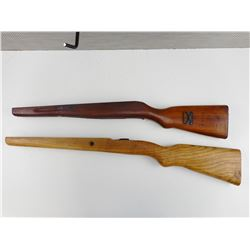 WOODEN MILITARY GUN STOCKS