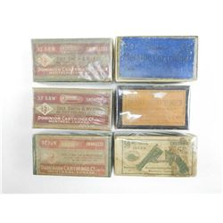 ASSORTED EMPTY AMMO BOXES