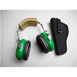 UNCLE MIKES HOLSTER & STRAIGHTAWAY EAR PROTECTION