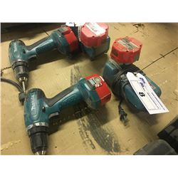 MAKITA 6281D PORTABLE DRILL WITH CHARGER AND EXTRA BATTERY