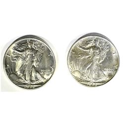 2-1944-S WALKING LIBERTY HALF DOLLARS CH BU