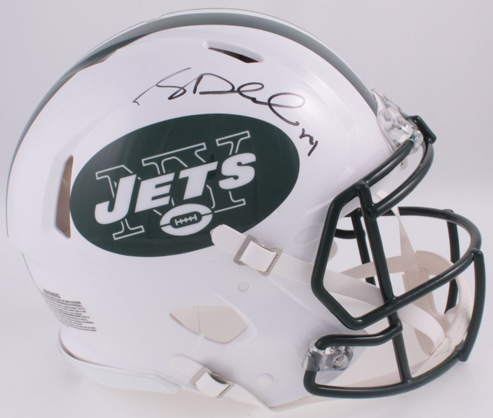 Image 1   Sam Darnold Signed Jets Full-Size Authentic On-Field Speed Helmet 91cae1203