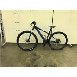 BLACK SPECIALIZED PITCH FRONT SUSPENSION MOUNTAIN BIKE WITH FRONT AND REAR DISK BRAKES