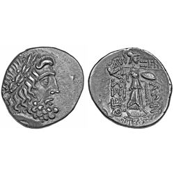 ANCIENT GREEK. Greek silver, Thessaly, Thessalian Confederacy, 196-146 BC, double Victoriatus