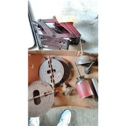 Jack / Griswold Stove Parts, Oil Cans